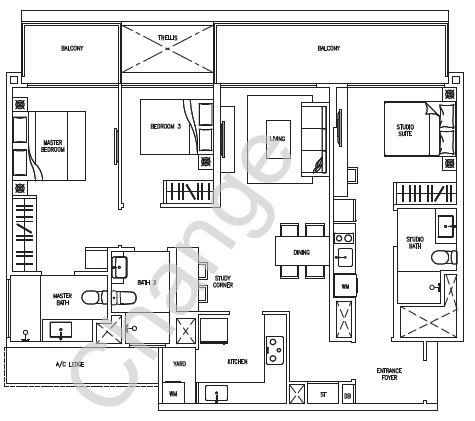 Citylife Floorplans Executive Condominium Singapore Ec Parc Central Piermont Grand Forestville Skypark Terrace Waterwoods Brownstone Sea Horizon Ecopolitan Bellewaters Bellewoods Amore Vales Sol Acres Westwood