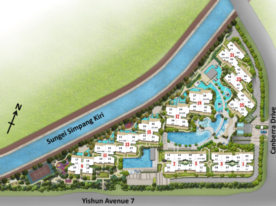 One Canberra Site Plan