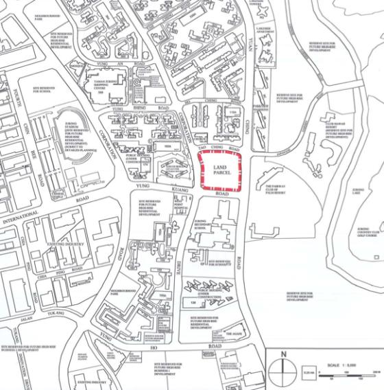 EC at Yuan Ching Rd Location Map