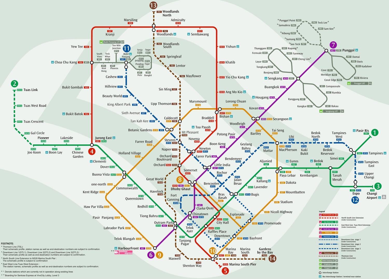 MRT Map   Executive Condominium Singapore EC Forestville Skypark ...