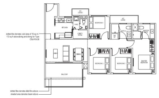 4-bedroom Brownstone