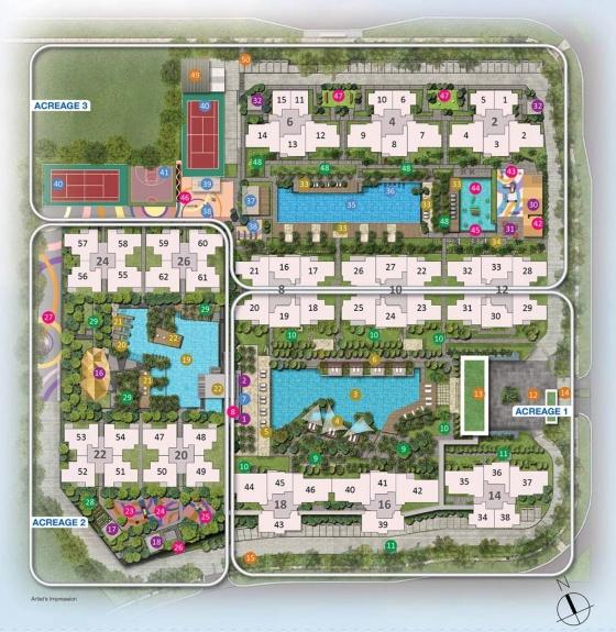 Sol Acres Siteplan